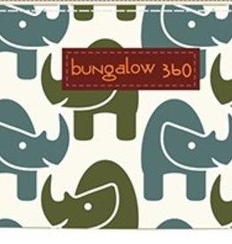 Bungalow 360 Canvas Zip Around Wallet Rhino