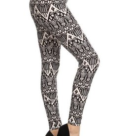 Aztec Print Buttery Soft Leggings