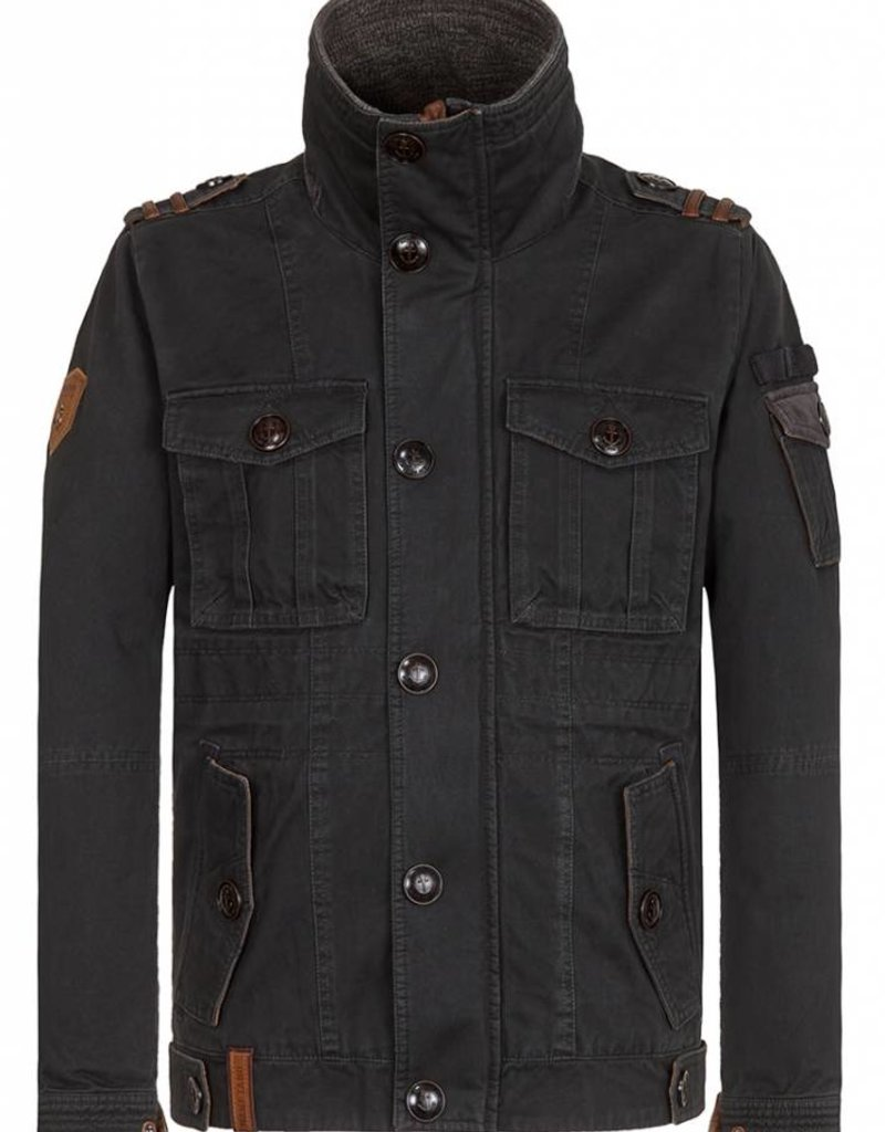 Naketano Lutschewitz Jacket - Cool Black