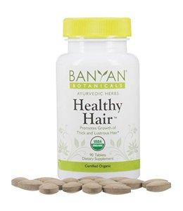 Banyan Botanicals Healthy Hair, 90 tablets
