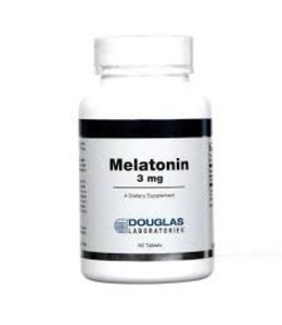 Douglas Labratories Melatonin 3mg, 60 tablets