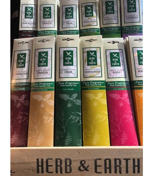 Herb and Earth Patchouli Incense
