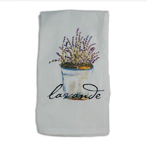 Lavender Hand Towel