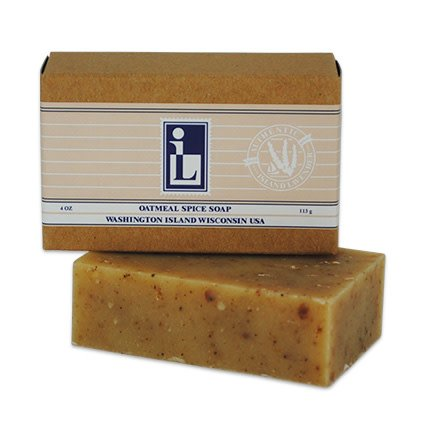 Natural Oatmeal Spice Soap
