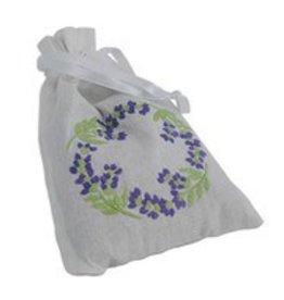 Lavender-Filled Circle Sachet