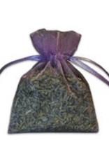 Small Lavender-Filled Organza Sachet