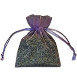 Small Lavender-Filled Organza Sachet