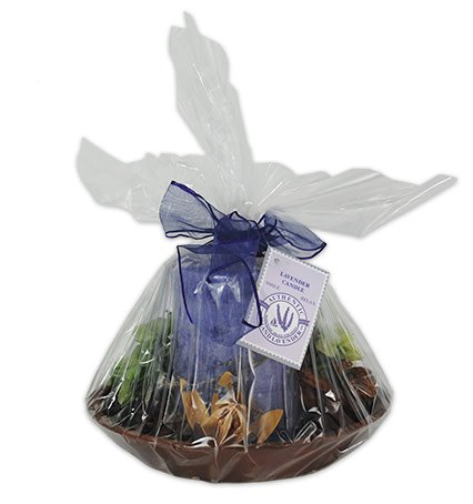 Lavender Fields Pie Plate Candle