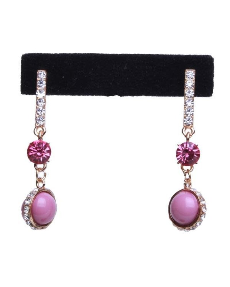 of lexington molly s earrings scout pink loop pnk jewel earring