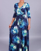 Got The Blues Maxi Dress