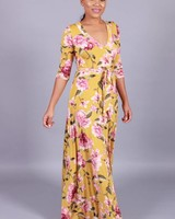 Soft Blossoms Maxi Dress