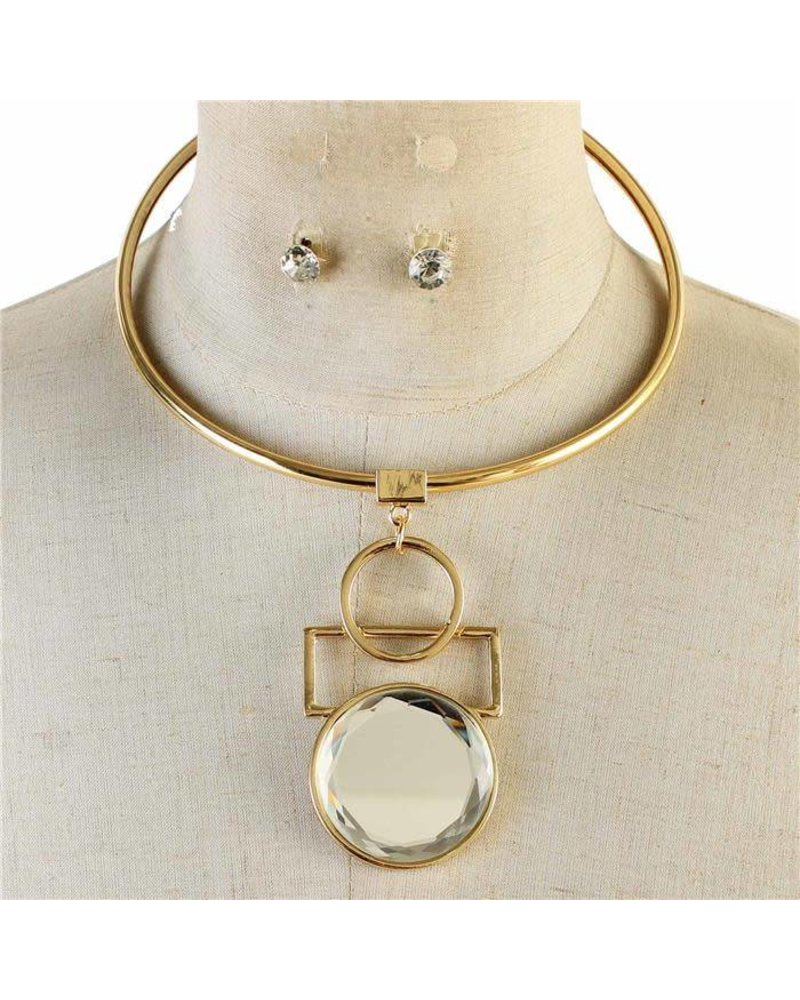 circle kwon necklace diamond designs mirror pendant jennie products