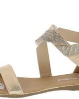 Symmetrical Glitz Sandals