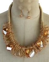 Entangled Jewels Necklace Set
