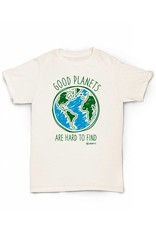 Hempy's Good Planets T-Shirt-Natural