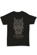 Hempy's Owl T-Shirt-Black Totem Series