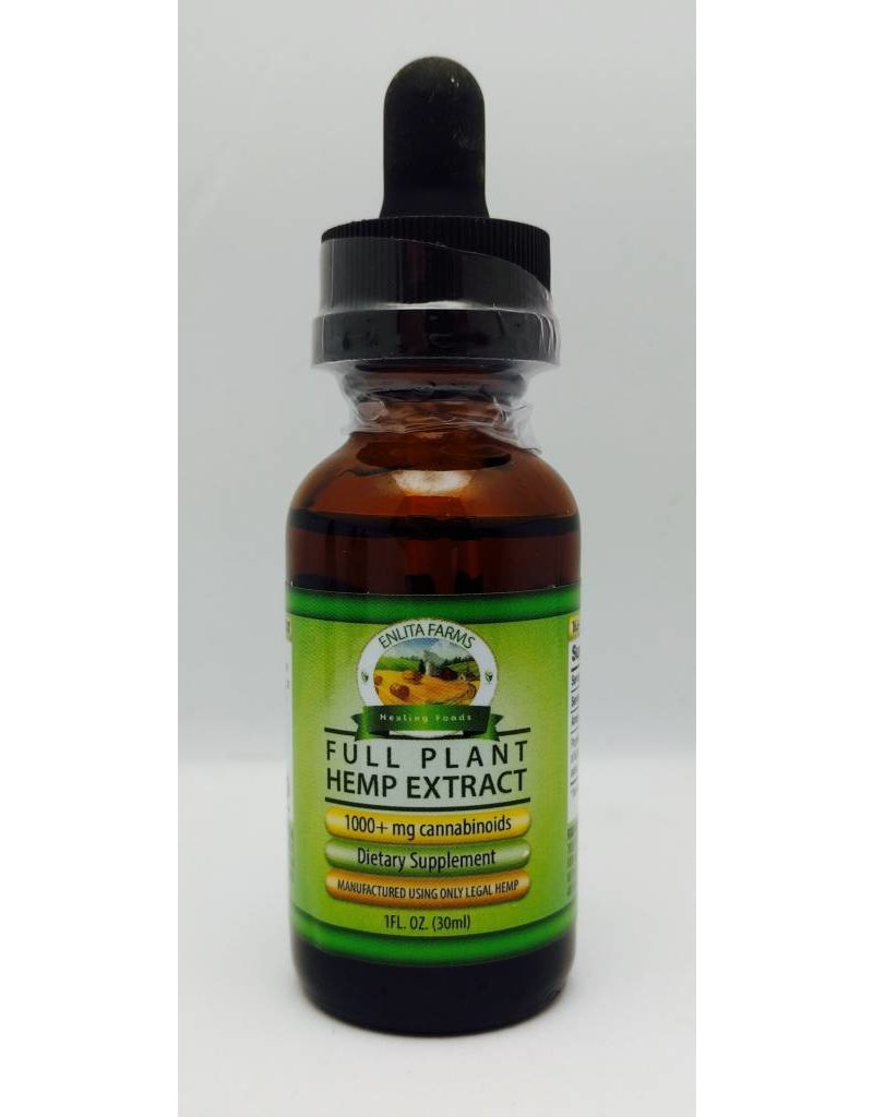Enlita Farms Hemp Extract tinctures