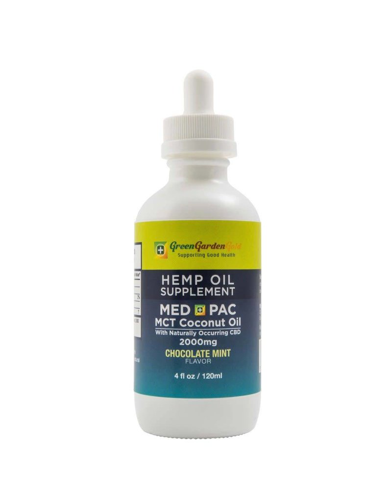 Green Garden Gold 4oz MED-PAC Tinctures