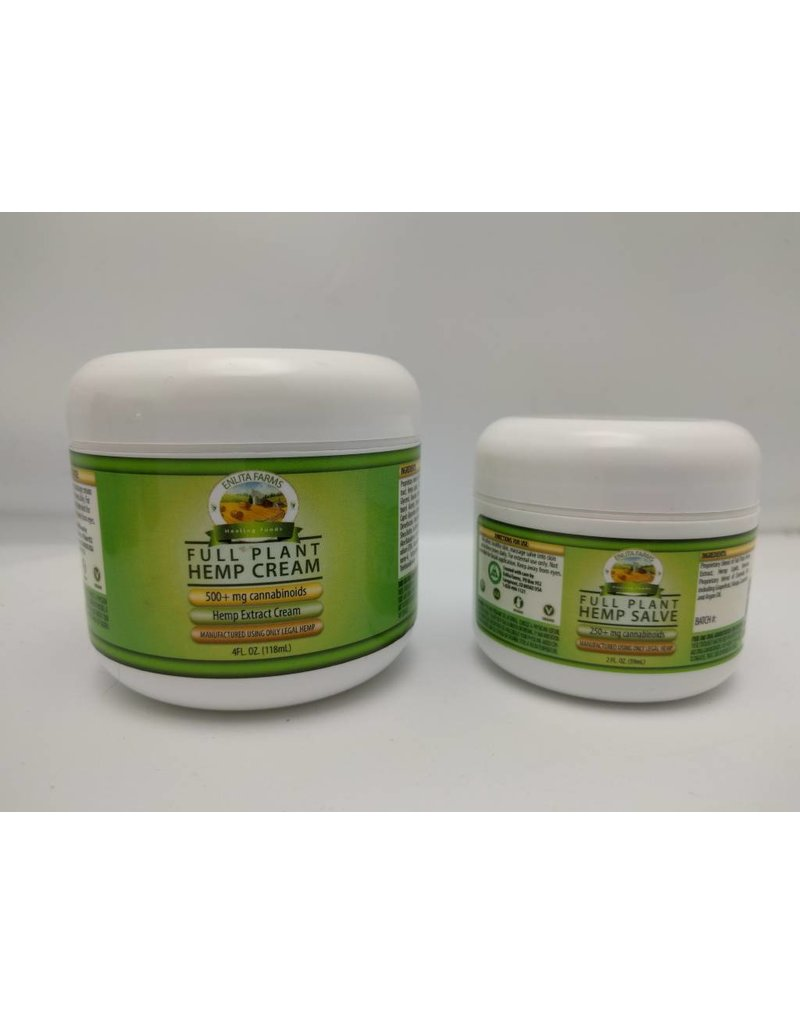 500 mg Hemp Cream-4oz