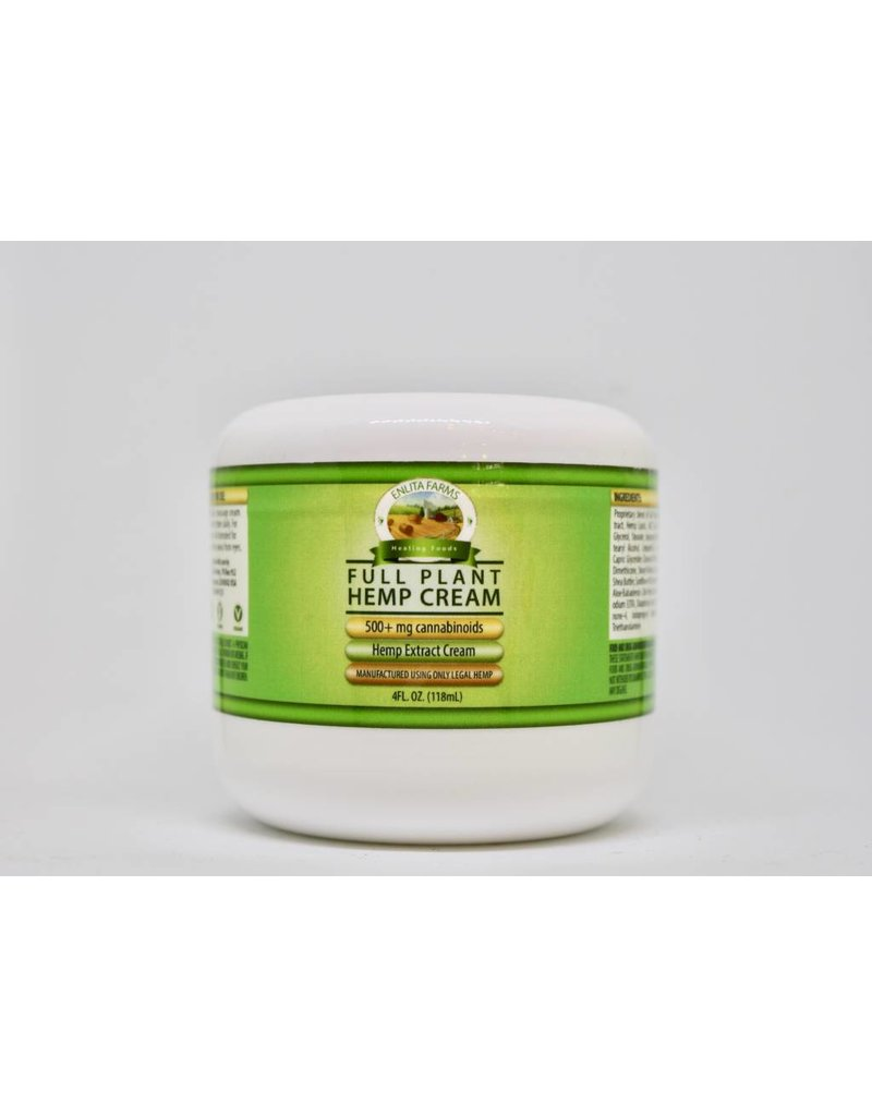 Enlita Farms 500 mg Hemp Cream-4oz
