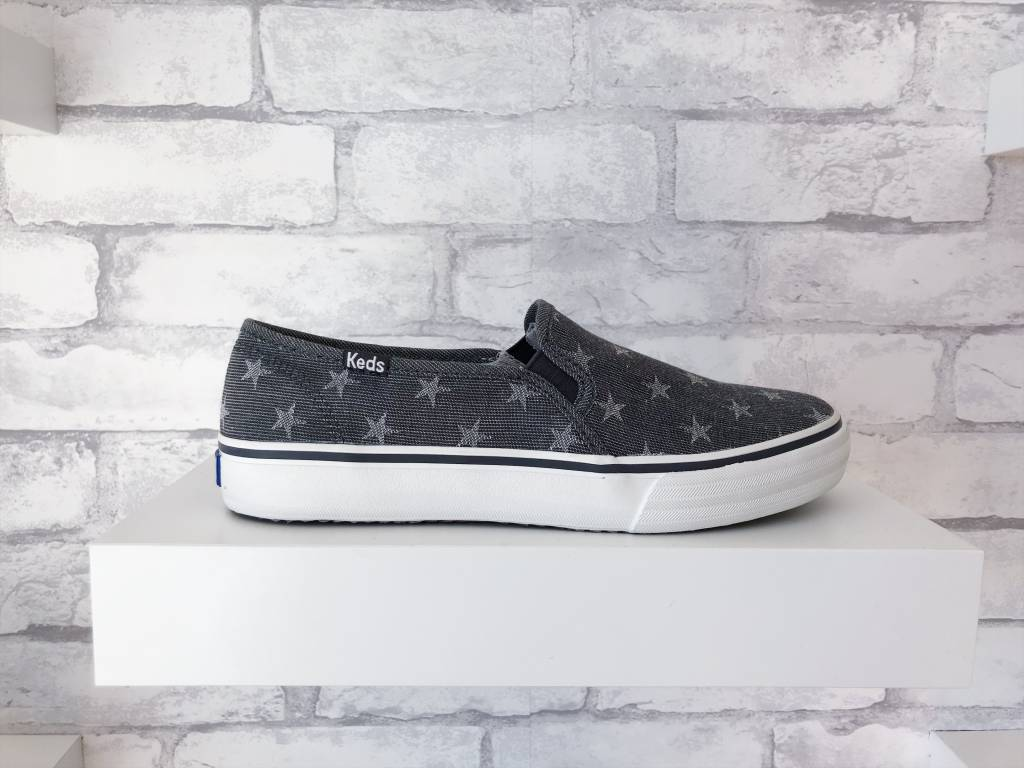 Keds Double Decker Chambray Star 9zfJO8dh6