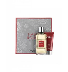 GUERLAIN GUERLAIN HABIT ROUGE 2pc Set