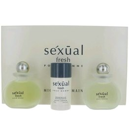 MICHEL GERMAIN MICHEL GERMAIN SEXUAL FRESH POUR HOMME 3pc Set