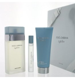 DOLCE & GABBANA DOLCE & GABBANA LIGHT BLUE 3pcs Set (MINI)