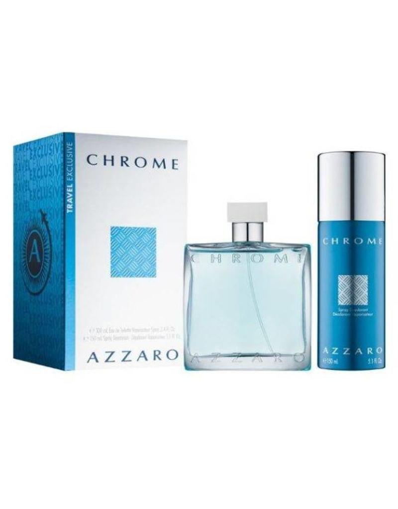 AZZARO AZZARO CHROME 2PCS SET
