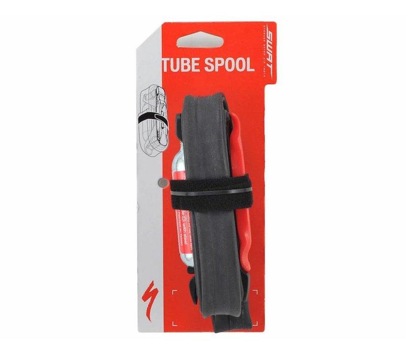 TUBE SPOOL FLAT REPAIR KIT W/60MM TUBE & CO2 - ROAD 16g CO2