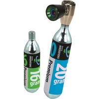 Genuine Innovations Air Chuck Elite Inflator: Includes 16gram and 20gram CO2 Cartridge