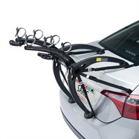 Saris Bones Trunk Rack: 3-Bike Gray