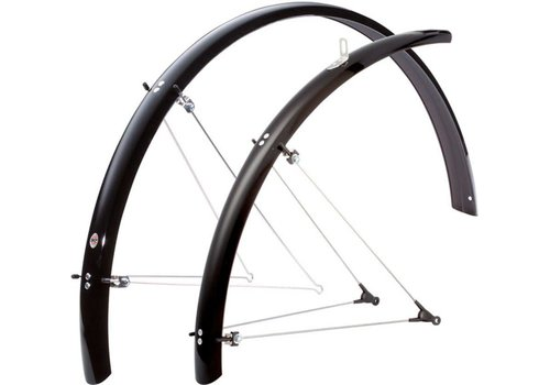 SKS B42 Commuter II Fender Set: Black 700 x 25-35mm