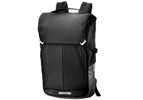 Brooks Pitfield Flap Top Backpack Discovery - Black