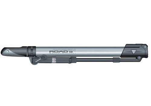 Topeak Topeak Road Morph Frame Pump with Gauge: Silver/Black