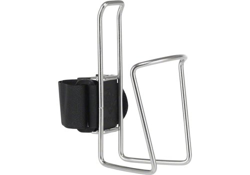 TwoFish QuickCage Water Bottle Cage: Stainless, No Bottle Included