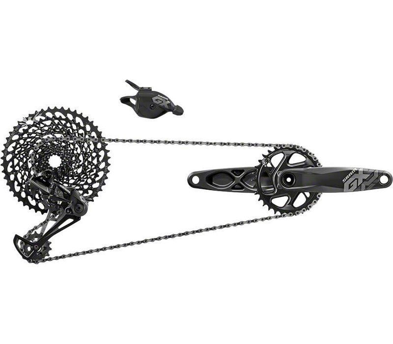 SRAM GX Eagle Groupset: 175mm 32 Tooth GXP Boost Crank, Rear Derailleur, 10-50 12 Speed Cassette, Trigger Shifter, Chain