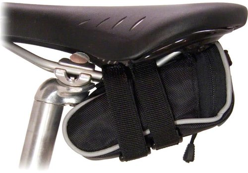 Banjo Brothers Banjo Brothers Seat Bag Deluxe: Mini, Black