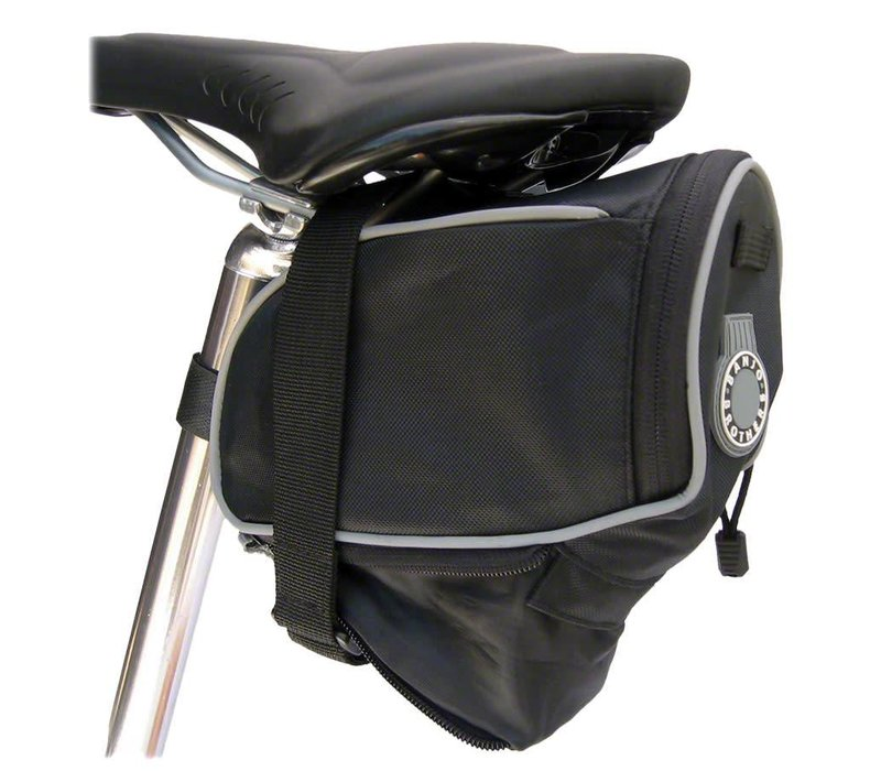 Banjo Brothers Seat Bag: Large; Black
