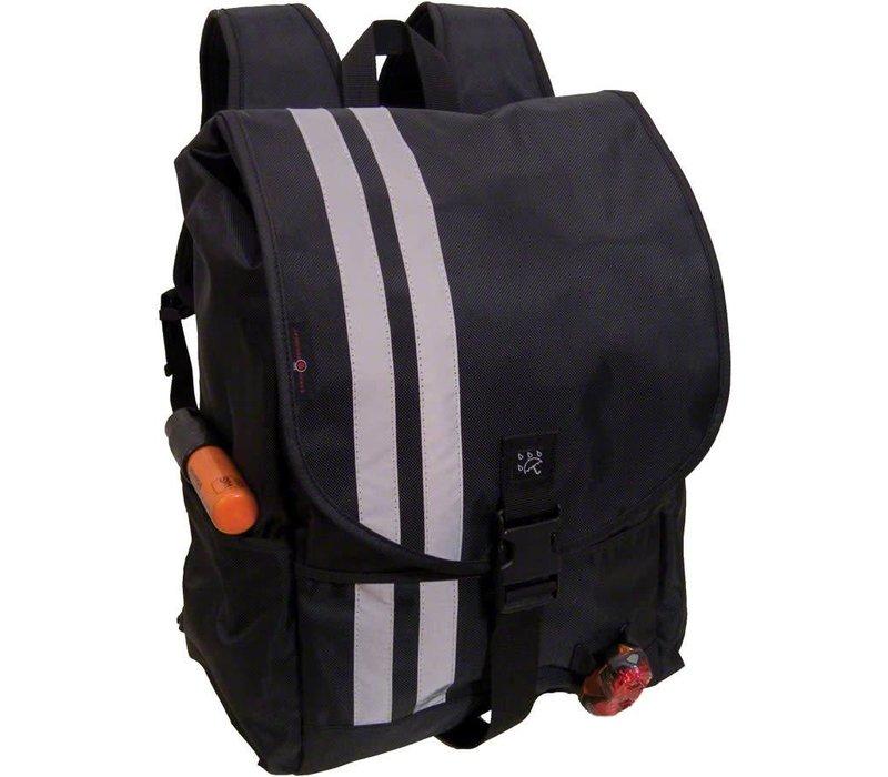 Banjo Brothers Commuter Backpack: MD~ Black