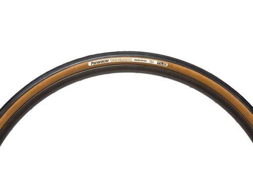 Panaracer GravelKing SLICK Tire Brown Sidewall
