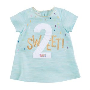 Mud Pie 2 BIRTHDAY TUNIC