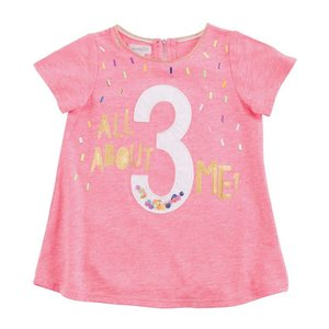 Mud Pie 3 BIRTHDAY TUNIC
