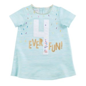 Mud Pie 4 BIRTHDAY TUNIC