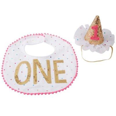 Mud Pie ONE CAKE SMASHING SET