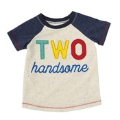Mud Pie TWO HANDSOME SHIRT