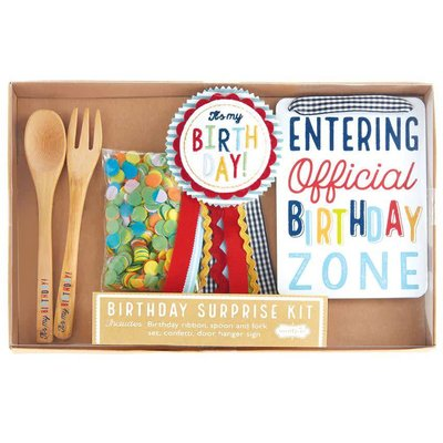 Mud Pie BIRTHDAY SURPRISE KIT