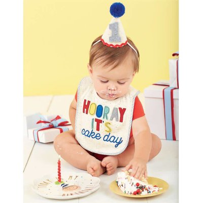 Mud Pie BOY CAKE SMASHING SET