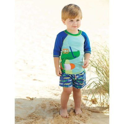 Mud Pie GATOR SWIM TRUNKS