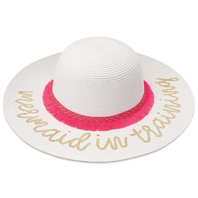 SEQUIN MERMAID SUN HAT